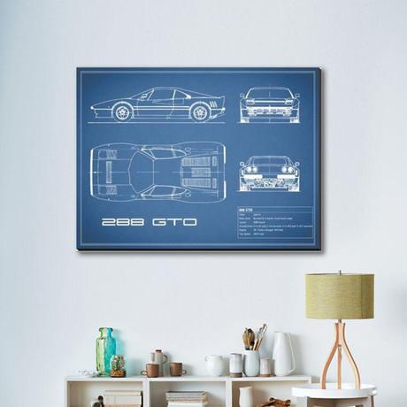 Ferrari 288-GTO // Blue