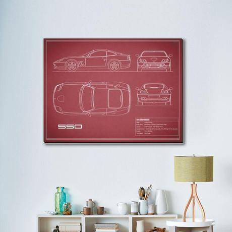 Ferrari 550 // Maroon