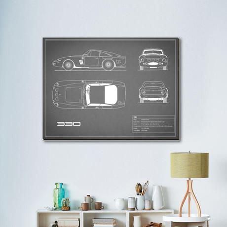 Ferrari 330 // Gray
