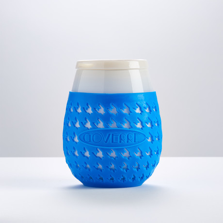 Goverre Portable Wine Cup // Blue