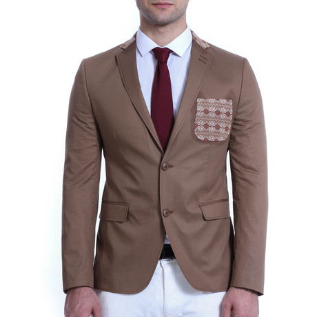 Chester Blazer // Brown