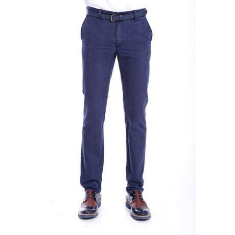 Jasper Trousers // Navy (40WX34L)