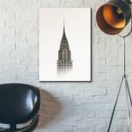"Chrysler Building (12""W x 18""H x 0.75""D)"