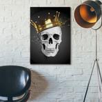 "Royal Skull (12""W x 16""H x 0.75""D)"