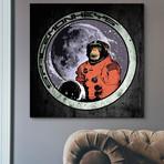 """Space Monkeys (18""""W x 18""""H x 0.75""""D)"""