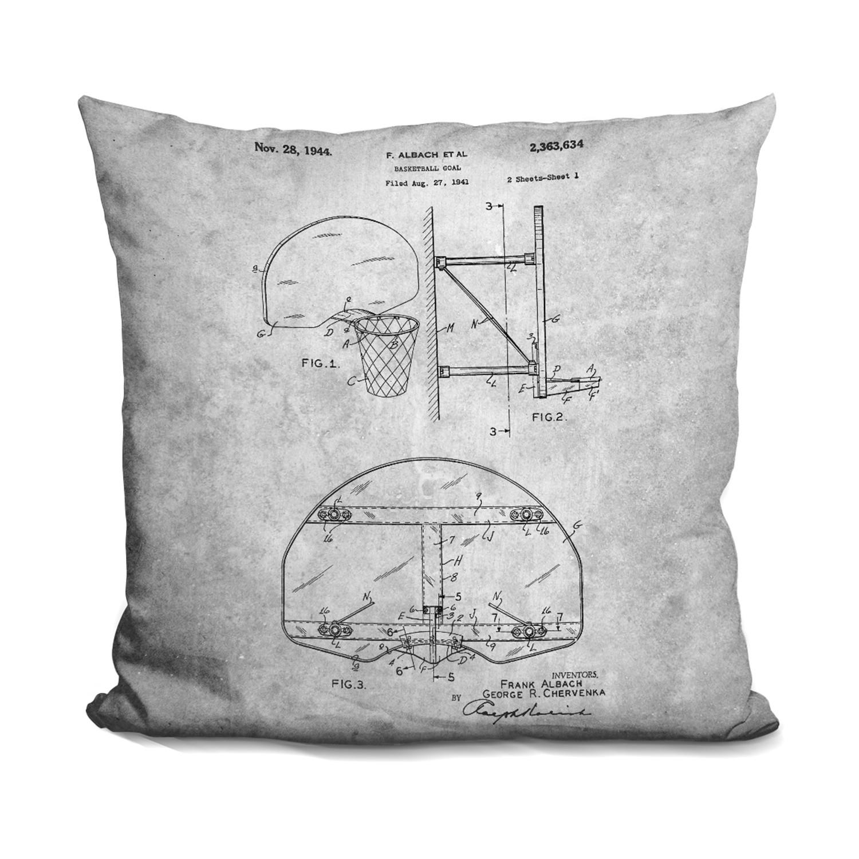Basketball Hoop Blueprint Comfy Blueprints Touch Of Modern Diagram