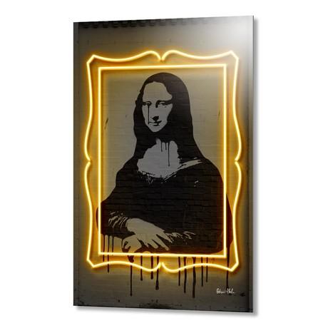 "Mona Lisa // Aluminum (16""W x 24""H x 1.5""D)"