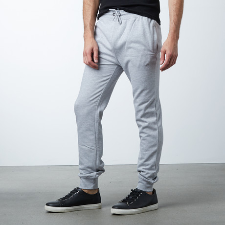 Classic Pants Joggers // Grey Melange