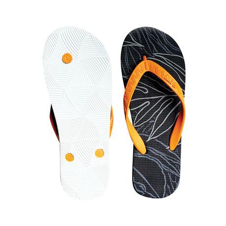 Uluwehi Keaukaha // Orange + Black + White