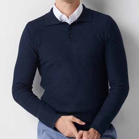 Anthony Tricot Jumper // Dark Blue