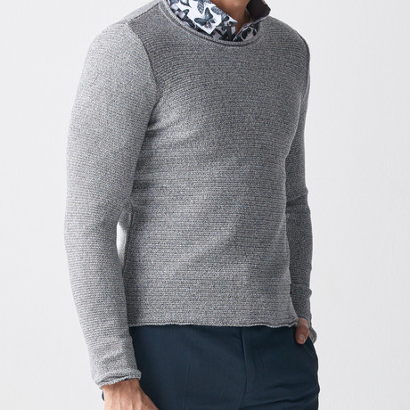 Mason Tricot Jumper // Grey