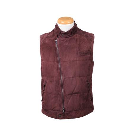 Jayden Vest // Maroon
