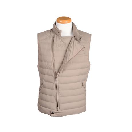 Hunter Vest // Beige (XL)