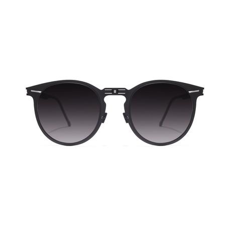 Riviera Black // Gray Gradient Lens