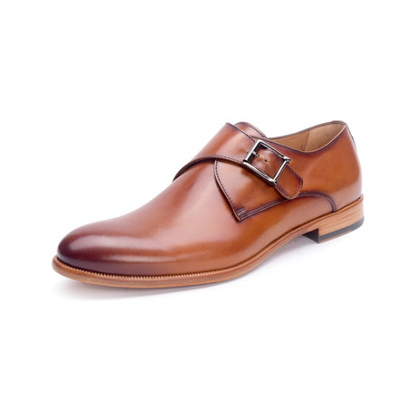 Collins Leather Shoe // Siena