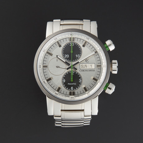 Chronoswiss Pacific Chronograph Automatic // CH-7585B-SI // Store Display