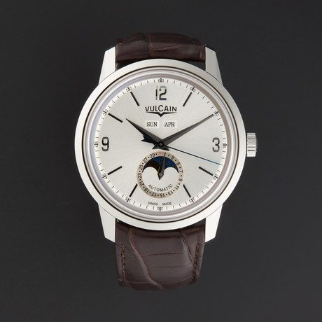 Vulcain 50's Presidents Moonphase Automatic // 580158.327L // Store Display