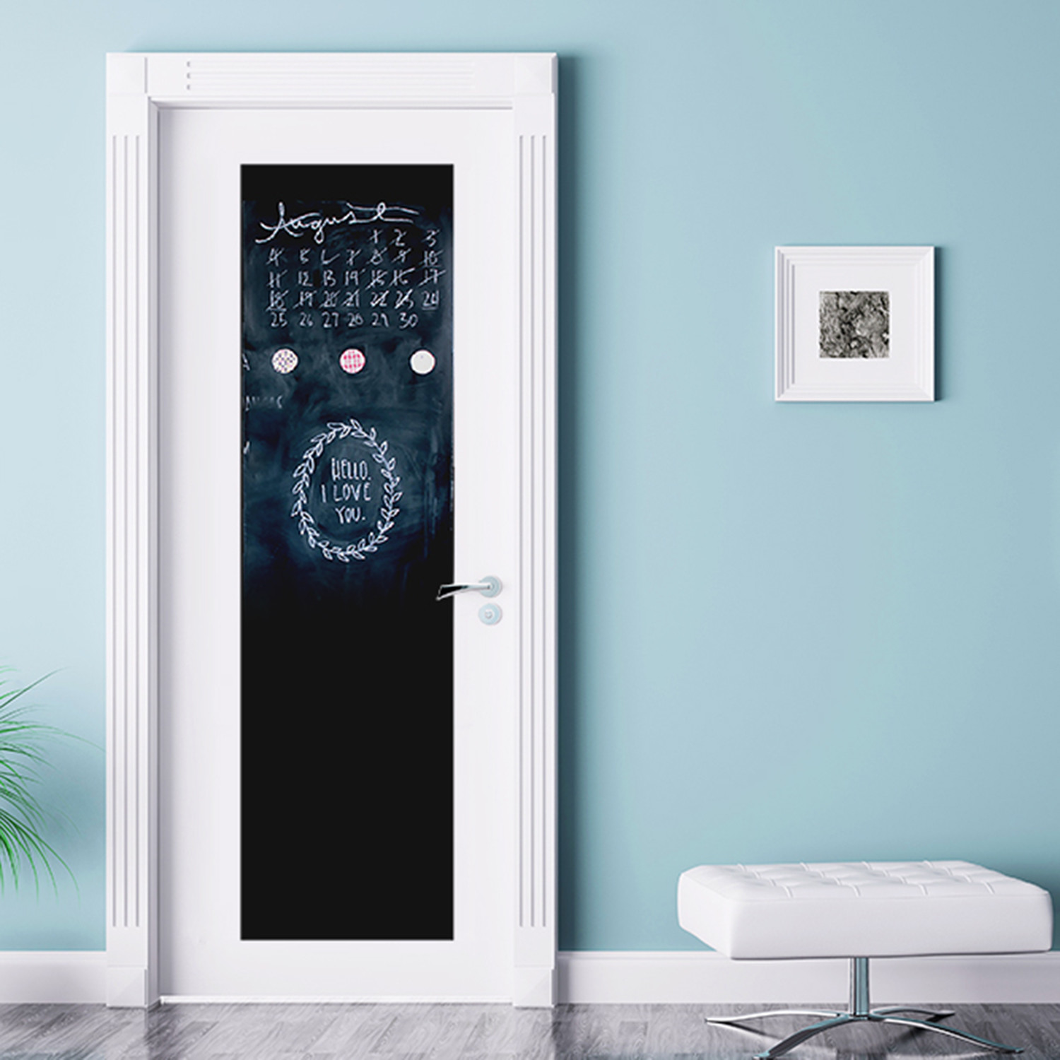 Blackboard // Door Mural & Blackboard // Door Mural - Walplus - Touch of Modern
