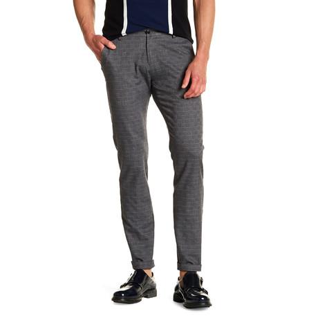 Roscoe Comfort Fit Dress Pant // Charcoal