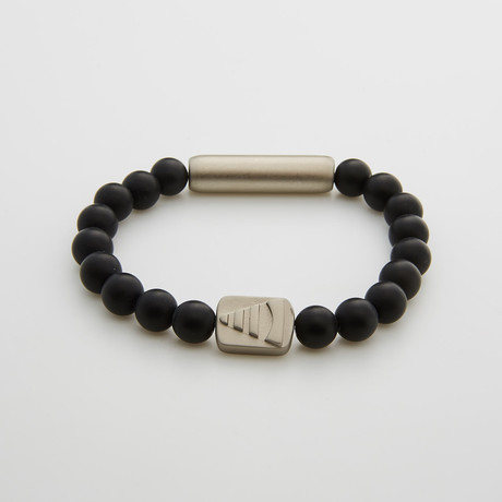 Lucid Dream Reality Check Bracelet // Black Onyx