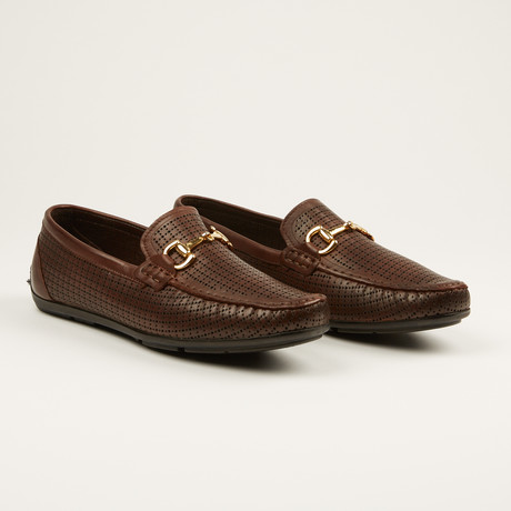 Laser Print Loafer // Brown (US: 7)