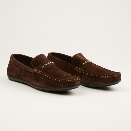Suede Loafer // Brown