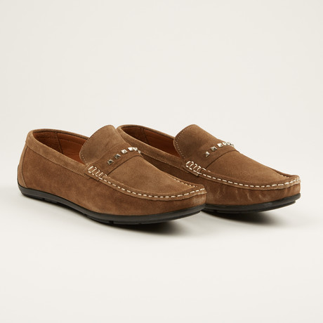 Suede Loafer // Sand (US: 7)