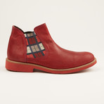 Washed Leather Chukka Boot // Red (US: 7)