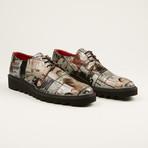 Magazine Leather Shoe // Multi (US: 7)