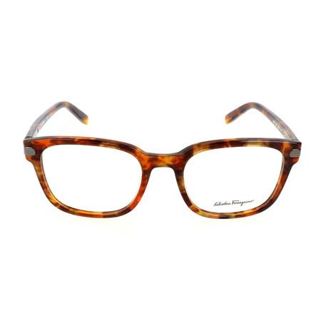 Men's SF2771 Optical Frames // Marble Brown