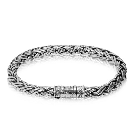 "Contemporary Silver Chain Bracelet (Small // 7.5"")"