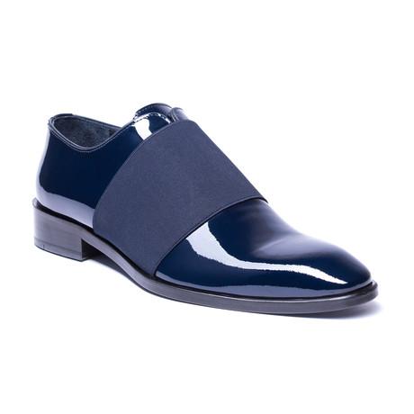 Slip-On Patent Loafer // Navy