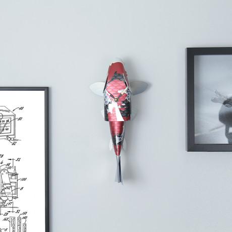 Bonito Fish Clock // Taisho Sanke Koi