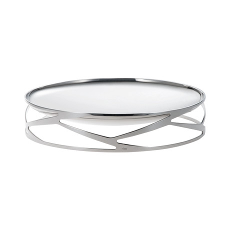 Trama Rounded Center Piece (Stainless Steel)