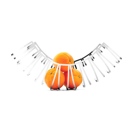Toledo Fruit Holder (Stainless Steel)