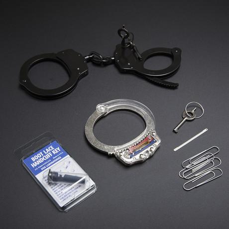 Escape From Handcuffs // Black + Silver