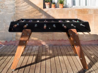 Wood Foosball Table (White)
