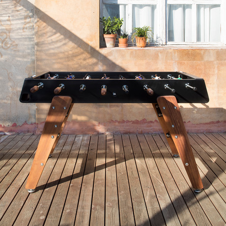 Wood Foosball Table (Black)