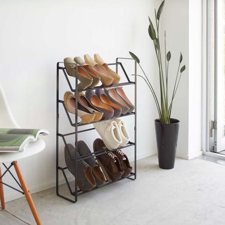 Frame // Slim Shoe Rack (White)