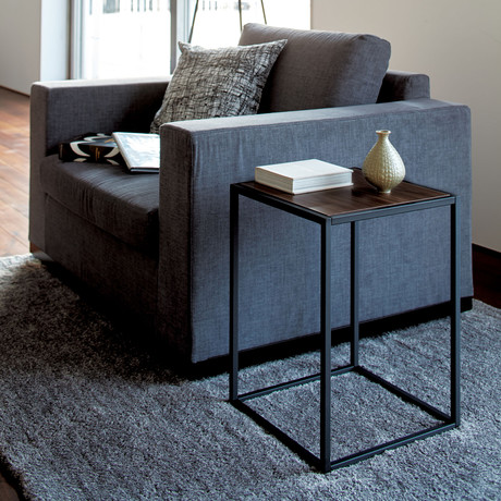 Tower // Square Coffee Table