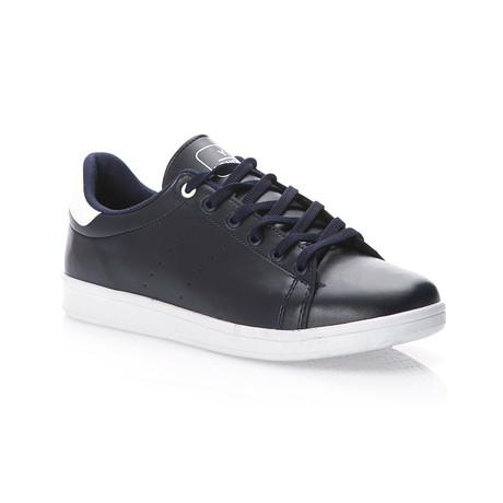 London Low-Top Sneaker // Navy Blue