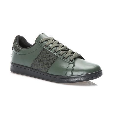 Fiji Low-Top Sneaker // Khaki