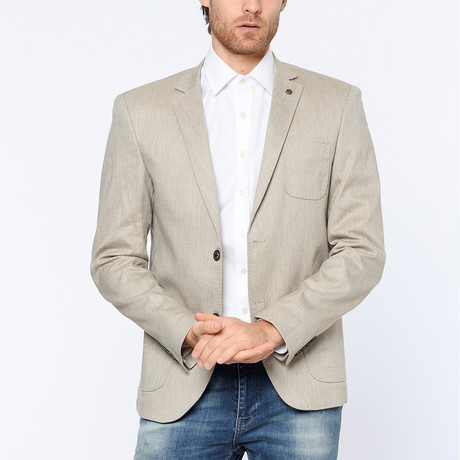 Rory Jacket // Beige (Small)