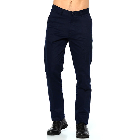 Caleb Trousers // Dark Blue (42)