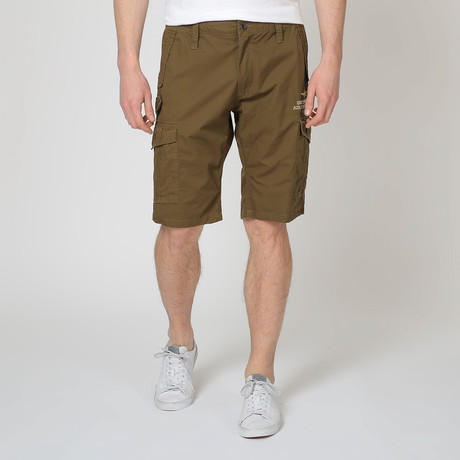 Bermuda Shorts // Army Brown