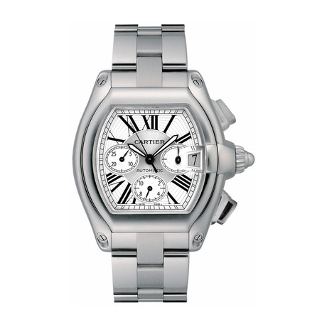 Cartier Roadster Chronograph Automatic // W62019X6 // Store Display