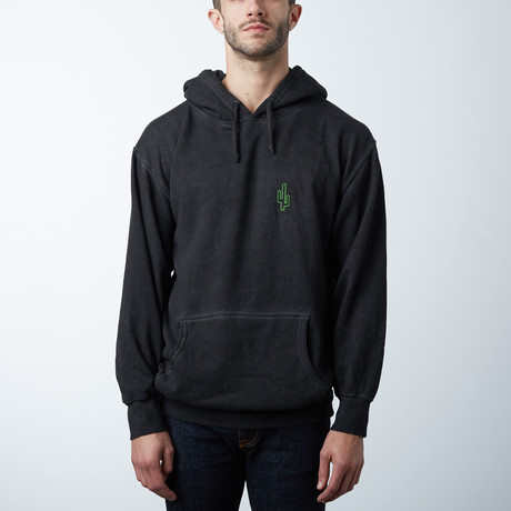 Neon Cactus Venice Hoody // Black