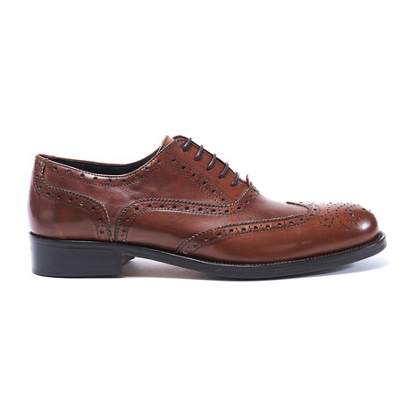 Wing Cap Oxford II // Brown (Euro: 40)