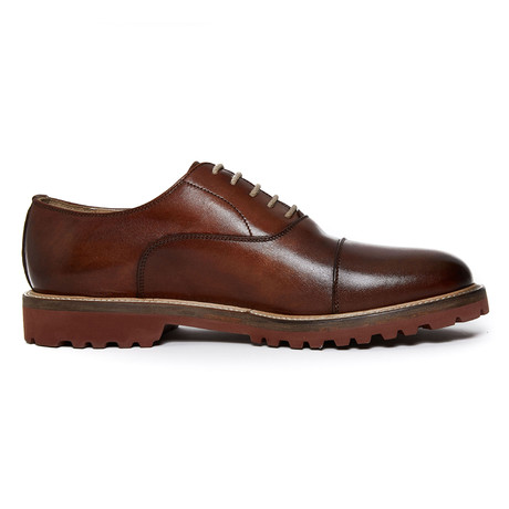 Toe Cap Oxford Iv // Brown (Euro: 40)