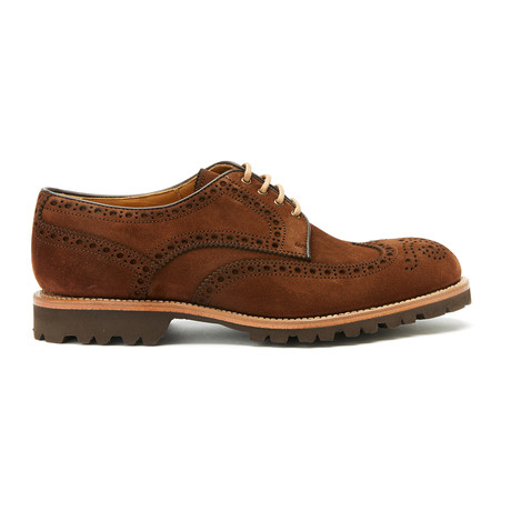 Wing Cap Derby Goodyear II // Brown (Euro: 40)